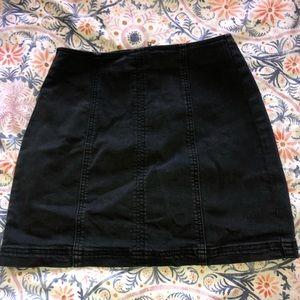 Pacsun black skirt
